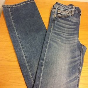 Joe's Honey High-Rise Curvy Bootcut Jeans SZ 27